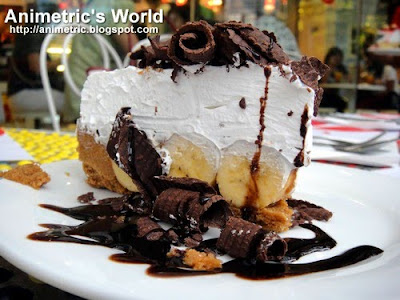Banoffee Pie at Banapple