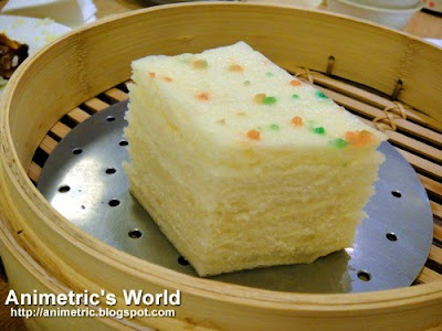 Steamed Chinese-Style Layer Cake at Din Tai Fung