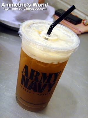 LiberTea Iced Tea at Army Navy Burger+Burrito