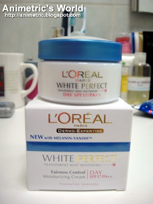 L'oreal Paris White Perfect Fairness Control Moisturizing Day Cream Review
