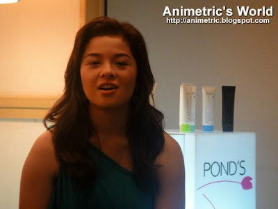 Andi Eigenmann for Pond's Clear Solutions