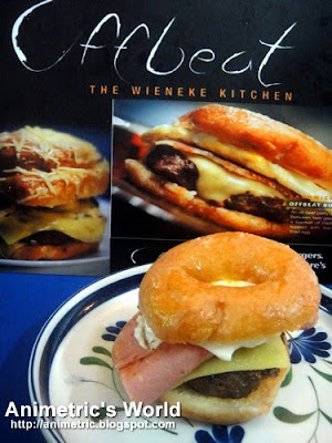 Krispy Kreme Burger at Offbeat at Midnight Mercato