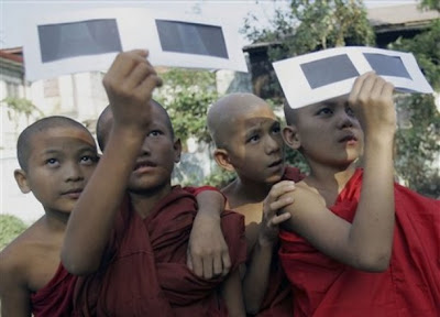 >solar eclipse in burma