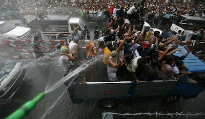 >water festival in Rangoon