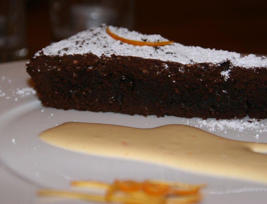 kochsamkeit italienischer schokoladenkuchen mit orangen sabayone. Black Bedroom Furniture Sets. Home Design Ideas