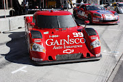The Gainsco, Red Dragon # 99 of Alex Gurney and Jon Fogarty.