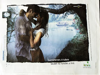 Love in monsoon (looks like a Kerala Tourism ad