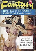 Cover image of Avon Fantasy Reader No 14, July 1950, edited by Donald A Wollheim