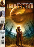 Cover image of Lightspeed magazine, June 2010 issue