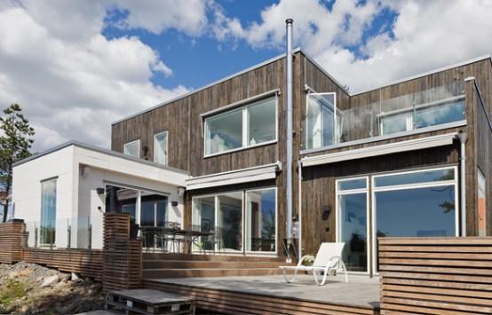 Casas de estilo moderno rustico y artisticas taringa for Estilos de casas modernas