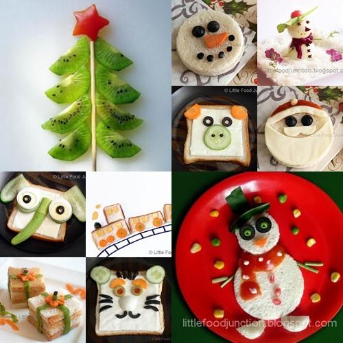 ... para hacer sandwiches,… o incluso un árbol de Navidad de Kiwi
