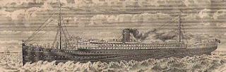 vignette of Compañia Trasatlantica share depicting ship