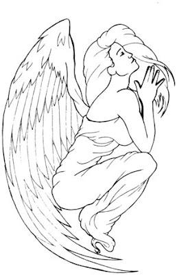 Small Angel Tattoos