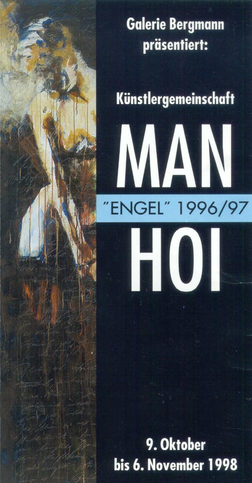 """1996-2006: Gemäldezyklus """"Man Hoi Engel Erscheinungen"""""""