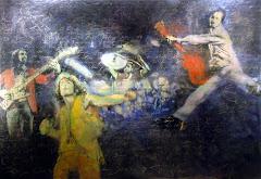 1999 - 2009: Gemäldezyklus Rock On Canvas