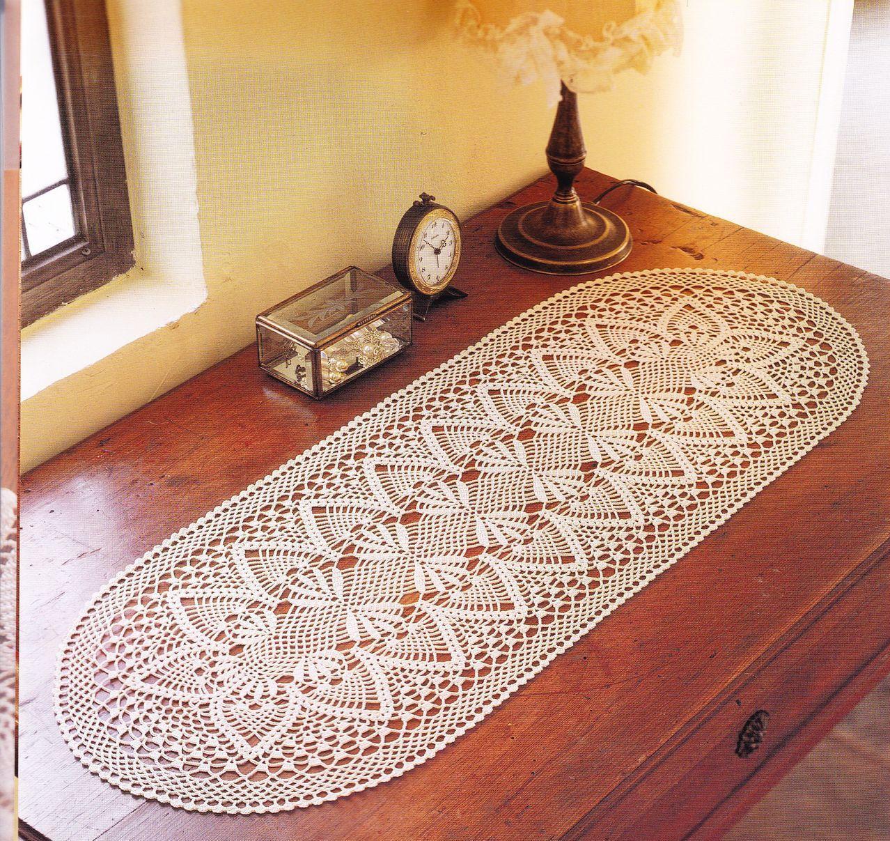 Etiquetas: crochet , crochet-camino de mesa