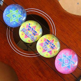 Mazel Tov magnet set