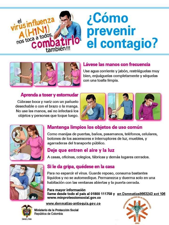 Servicio de Enfermería ::.: EL ABC DE LA INFLUENZA A (H1N1)
