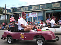 Shriners in the Makawao, Maui, Hawaii, Fourth of July Parade