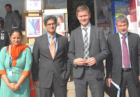 Norwegian Environment & International Development Minister Visits Easypaisa Outlet