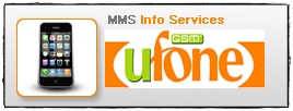 Ufone MMS Info Service