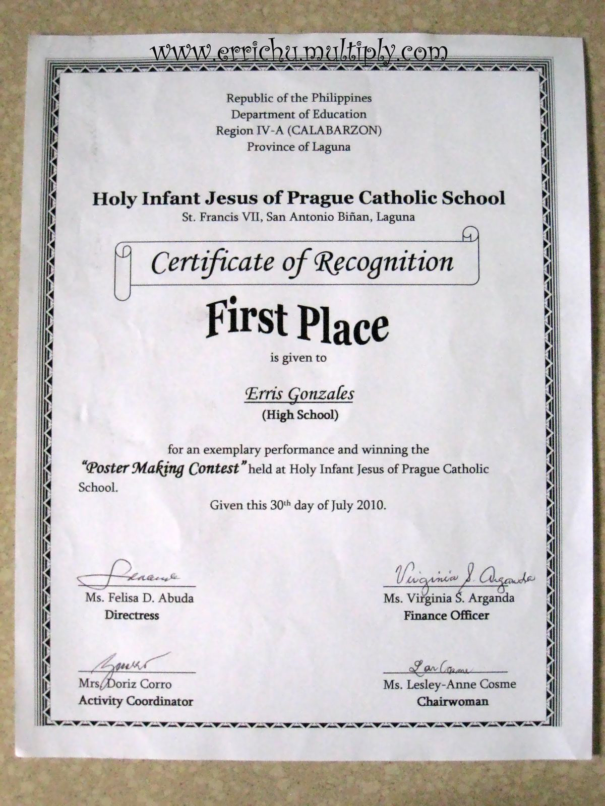 Essay contest winner certificate template. ALSOTOUCHED.CF