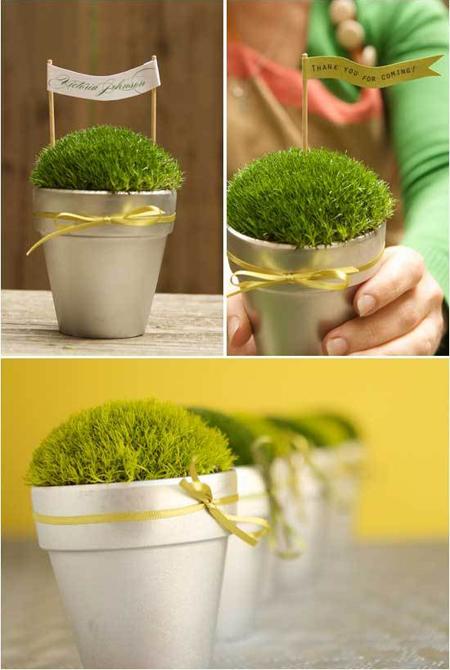Taller multicolor adornos miniatura simple y agradable for Macetas miniatura