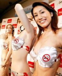 """TALLER MULTICOLOR: Curiosidades: """"Lencería para dejar de fumar"""""""