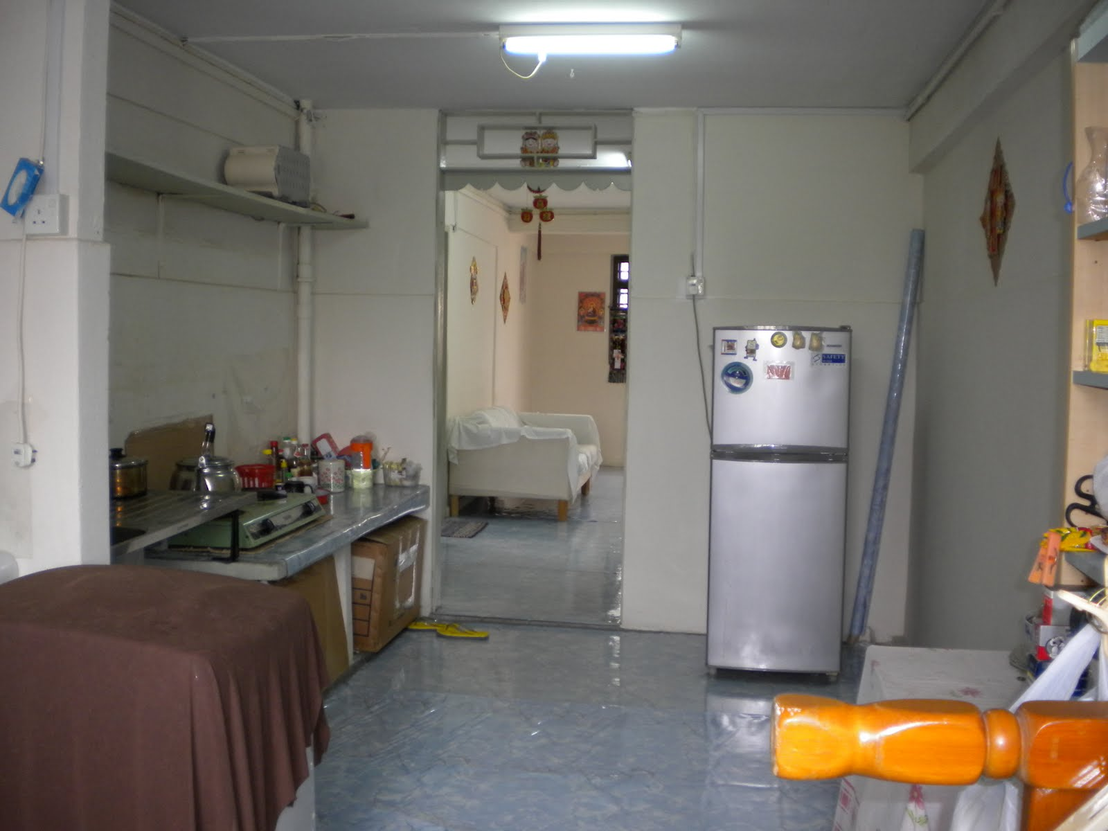 Above: Kitchen (existing condition)