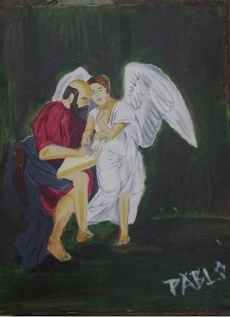 San Mateo y el Angel
