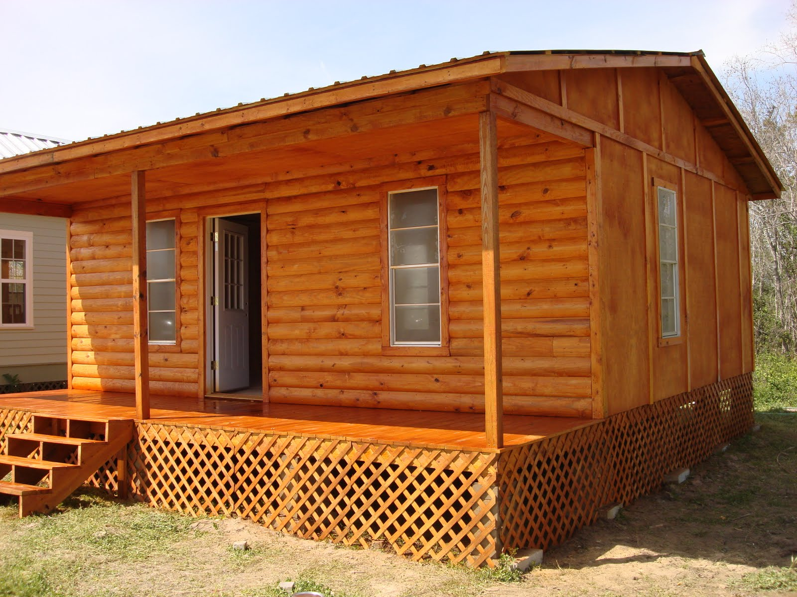 Simple custom cabin shells texas joy studio design for Simple cabin