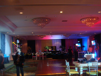 Bar mitzvah at the hilton rockville with our tables and lighting : lighting rockville - azcodes.com