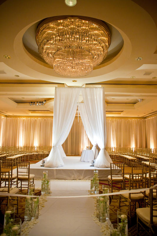 Chuppah In Park Hyatt Wedding Florist And Decor Washington Dc