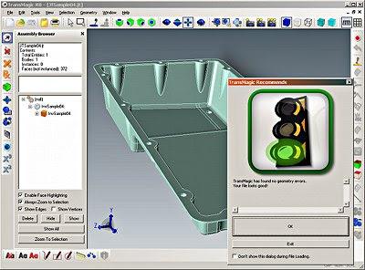 autocad CATIA Inventor JT Unigraphics ProE 3d files