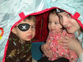 Jack 3, Greta, mommy shana