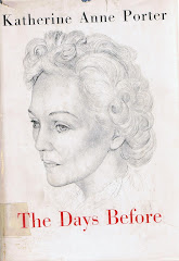<i>The Days Before</i>  Katherine Anne Porter