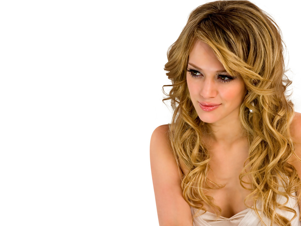 hair done into big wavy curls just like the picture except my hair was title=