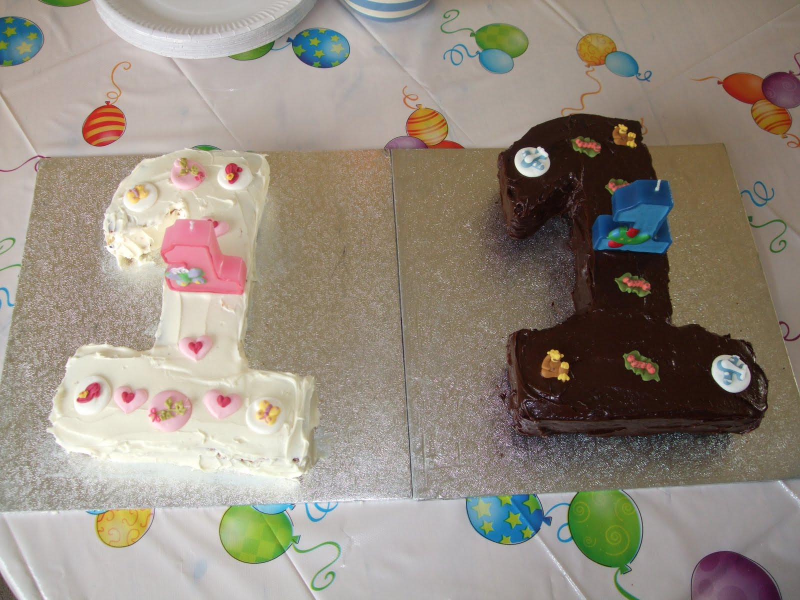 First Birthday Part 2 Cake Things My Twins Taught Me Today