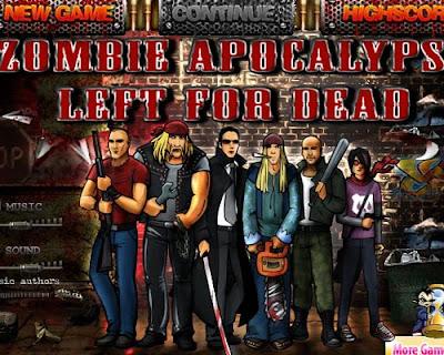 juego de disparos y juego de zombies