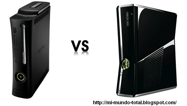 original xbox vs xbox 360New Xbox 360 vs Xbox 360 Original fight ...