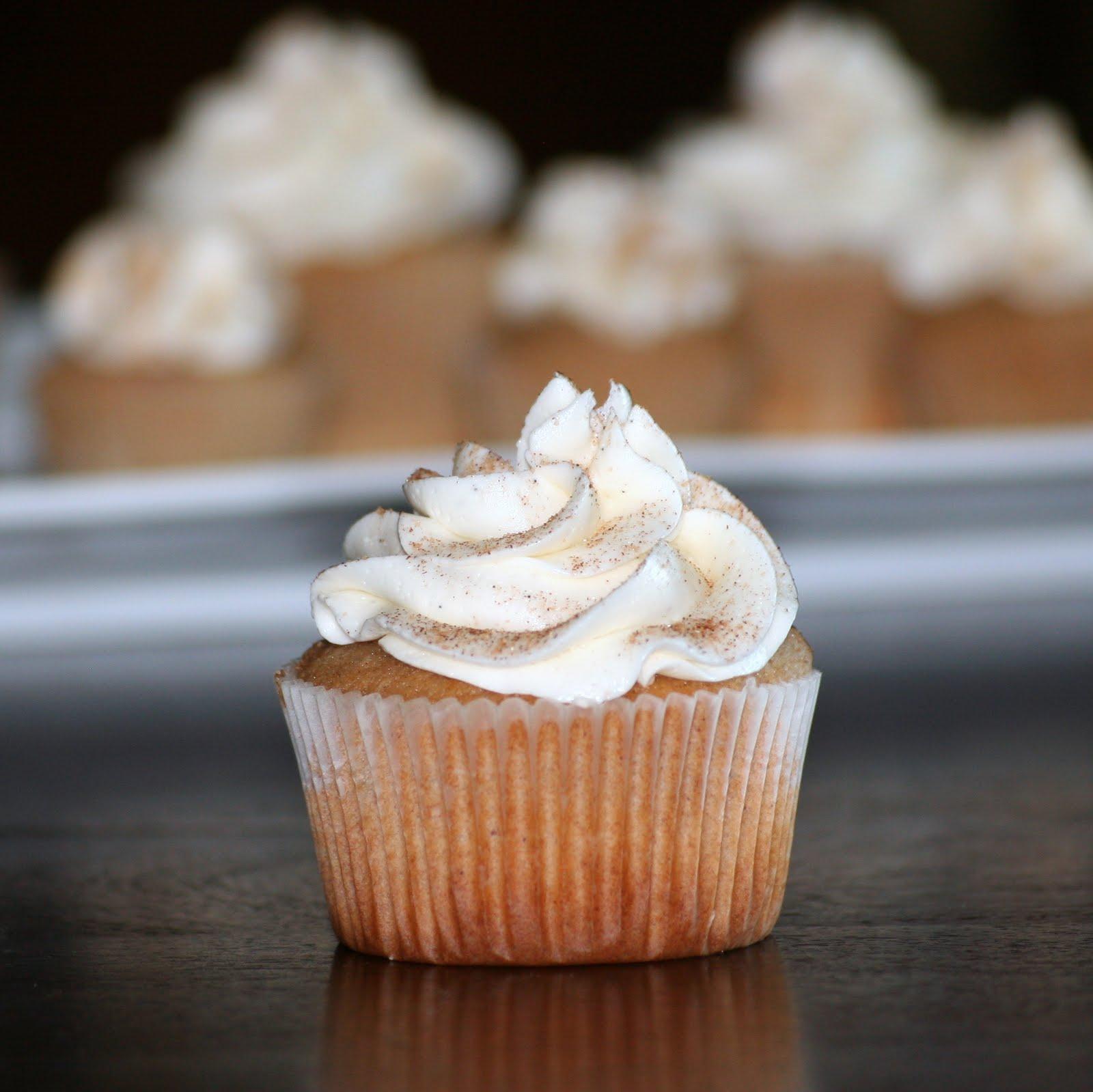 Snickerdoodle Cupcakes Recipe — Dishmaps