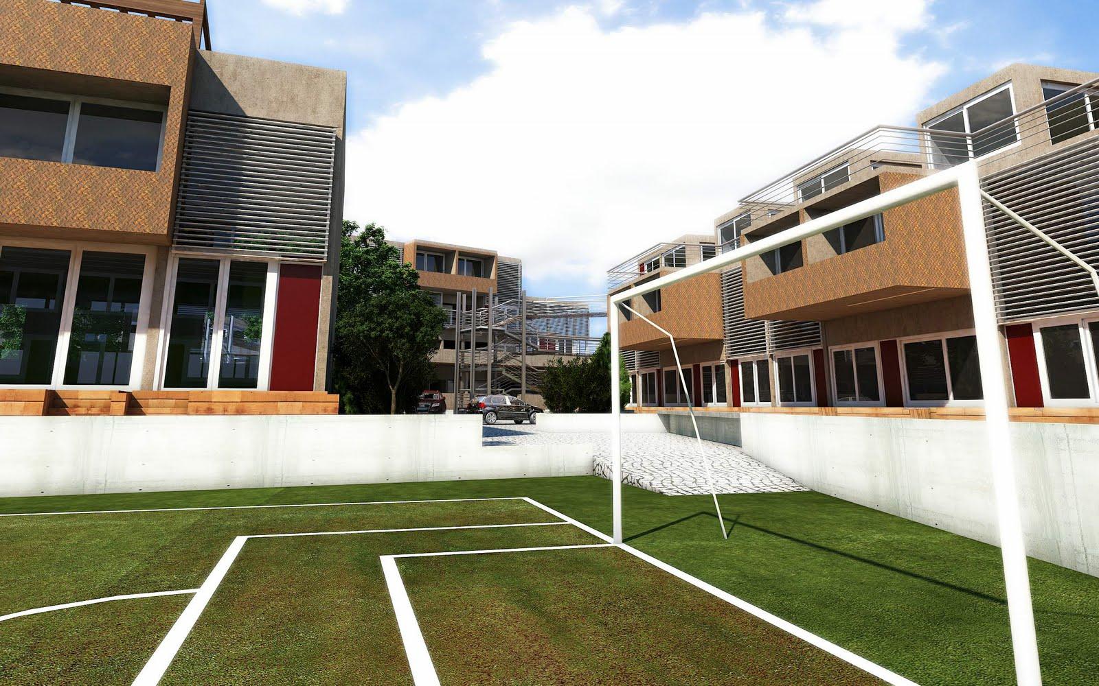 Arquitectura Digital Conjunto De Viviendas En San Isidro