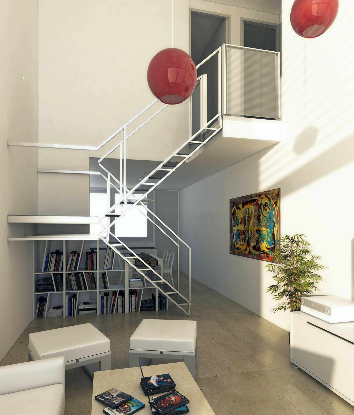Arquitectura Digital Vivienda En San Isidro Interior