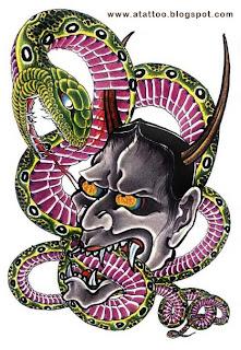 Cobra Verde com Máscara Hannia