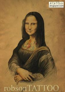 Monalisa Tatuada