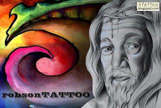 Desenho Biomecânico e Jesus Cristo