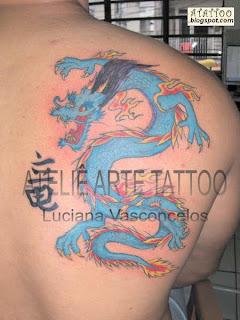 Dragão Oriental Azul