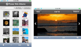 Picasa IPhone