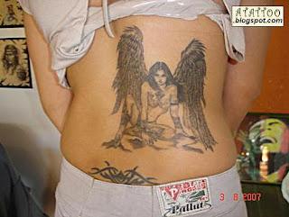 Anjo nas Costas