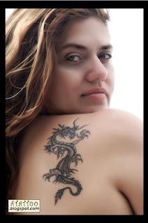 Dragão preto e cinza de Vicky Marx